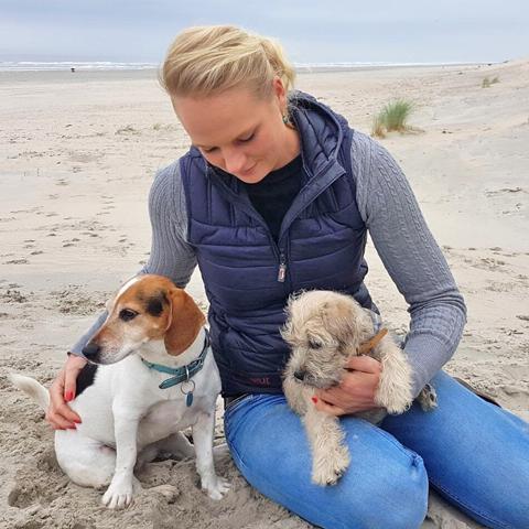 Dietske Dijkman, complementair diergeneeskundige