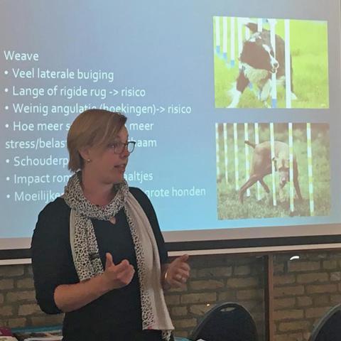 Cursus Pijn bij honden, Margriet Koopman