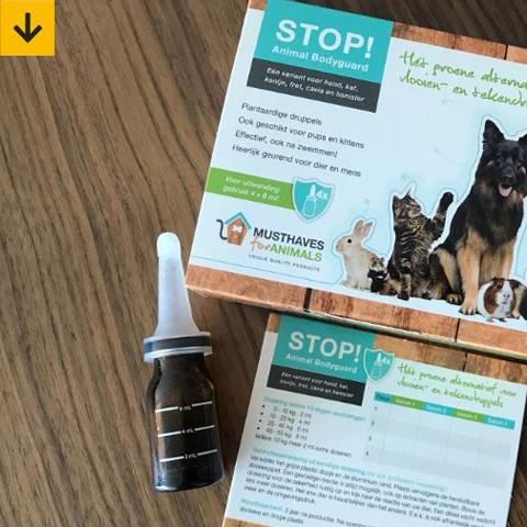 The Dog Pen schrijft over STOP! Animal Bodyguard druppels