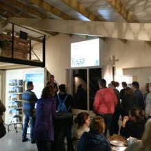 Irene deelt haar kennis over PUUR bij NML in Weesp
