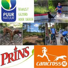 Canicrosswedstrijd 30 september Boschoord PUUR Prins Canicross NL